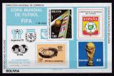 Bolivia  1979  sport  fotbal  MI  bl.83     MNH  w47, Nestampilat