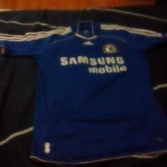 Vând tricou Chelsea, mărime S, poliester - Tricou barbati Adidas, Marime: S, Culoare: Albastru
