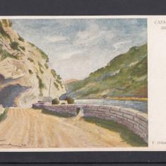 CAZANE BANAT DEFILEUL - Carte Postala Banat 1904-1918, Necirculata, Printata