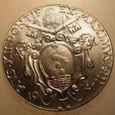 A.441 VATICAN PAPA PIUS XII 1 LIRA 1941 AUNC, Europa