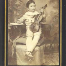 Carte postala CP BT039 Botosani - George Enescu la 5 ani, Necirculata, Printata