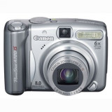 Aparat foto compact Canon PowerShot A720 IS ( stare foarte buna, in cutie )