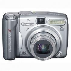 Aparat foto compact Canon PowerShot A720 IS ( stare foarte buna, in cutie ) - Aparate foto compacte