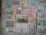 Lot 20 notgelduri Austria și Germania, 10 lei / notgeldul, taxe poștale gratuite