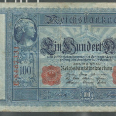 GERMANIA 100 MARK MARCI 21 Aprilie 1910 [1] - bancnota europa