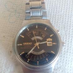 Ceas Orient 21 Rubine (orar minutar secundar si tigla data. Aur) - Ceas barbatesc Orient, Mecanic-Automatic