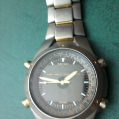 Seiko titanium - Ceas barbatesc Seiko, Quartz