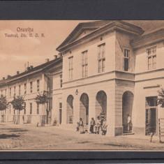 ORAVITA TEATRUL DIRECTIA N. D. R. - Carte Postala Banat dupa 1918, Necirculata, Printata