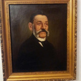 Tablou, ulei pe panza -Portret - Tablou autor neidentificat, Portrete, Altul