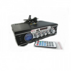Amplificator Audio Statie Amplificare MA-006 Radio Karaoke USB CardSD