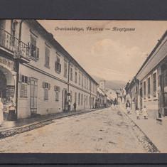 ORAVITA STRADA DIN ORAVITA CIRCULATA 1920 - Carte Postala Banat dupa 1918, Printata
