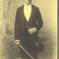 Carte postala CP BT038 Botosani - George Enescu la 16 ani, Necirculata, Printata