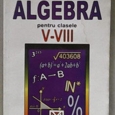 Florica Banu Algebra cls: V-VIII - Manual scolar niculescu, Clasa 5, Matematica