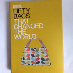 Album Fifty bags That Changed the World, Design Museum (album muzeu design) - Carte design vestimentar