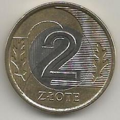 POLONIA 2 ZLOTI ZLOTE 1995 [1] XF++, livrare in cartonas, Europa, Bronz-Aluminiu