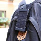 Baterie externa  incarcare si solara 10000-20000 mAh telefoane iphone  tableta