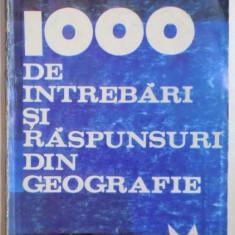 1000 DE INTREBARI SI RASPUNSURI DIN GEOGRAFIE de SANDU POCOL, 1996 - Carte Geografie