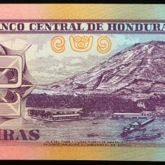 Bancnota 2 Lempiras - HONDURAS, 2010 * Cod 619 ---- UNC DIN FASIC! - bancnota america