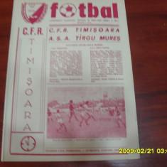 Program CFR Timisoara - ASA Tg.Mures - Program meci