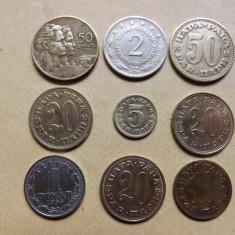 Iugoslavia Lot monede nr. 2 ( 1955 - 1981 ), Europa, Alama