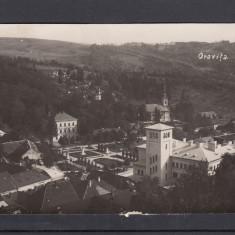 ORAVITA VEDERE GENERALA CIRCULATA 1937 - Carte Postala Banat dupa 1918, Printata