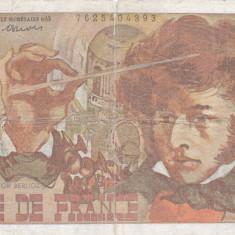 FRANTA 10 francs 6-7-1978 F+!!! - bancnota europa