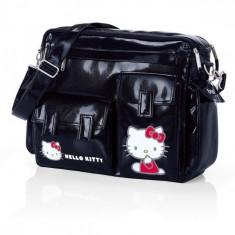 Geanta Free Style Hello Kitty 023 (Bleumarin) Brevi