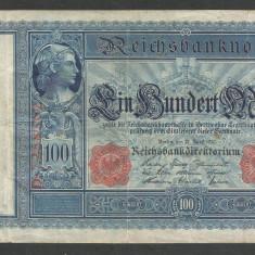 GERMANIA 100 MARK MARCI 21 Aprilie 1910 [5] - bancnota europa