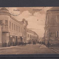 ORAVITA CINEMATOGRAF CIRCULATA 1932 - Carte Postala Banat dupa 1918, Printata