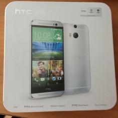 Telefon mobil HTC one m8, Argintiu, 16GB, Neblocat