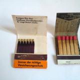 lot 2 cutii chibrituri vintage, de colectie, decor