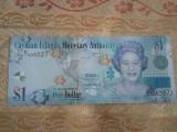 Insulele Cayman 1 dollar 2010, UNC