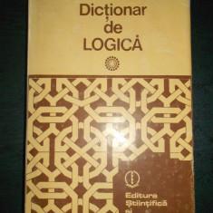 GHEORGHE ENESCU - DICTIONAR DE LOGICA