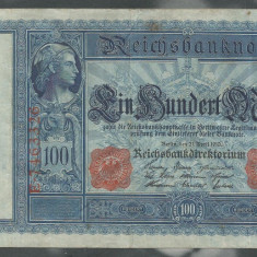 GERMANIA 100 MARK MARCI 21 Aprilie 1910 [2] - bancnota europa