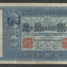 GERMANIA 100 MARK MARCI 21 Aprilie 1910 [4] - bancnota europa
