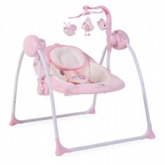 Leagan Electric Moni Baby Swing+ Roz Cangaroo - Balansoar interior