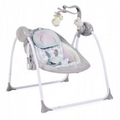Leagan Electric Moni Baby Swing+ Gri Cangaroo - Balansoar interior