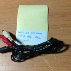 Cablu Jack 3.5 Stereo - 2RCA Tata 1, 4 m (15012), Cabluri jack