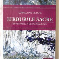 """IERBURILE SACRE"", Cornel-Dan Niculae, 2008. Absolut noua, Alta editura"