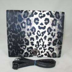 Geanta/plic dama neagra animal print+CADOU - Geanta Dama, Culoare: Din imagine, Marime: Medie