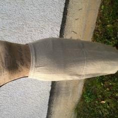 Fustă lungă din lână 100% Mango crem - Fusta Made in Italia, Marime: 36