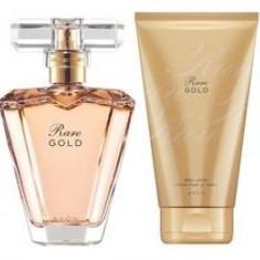 Apa de parfum Rare Gold 50 ml + lotiune de corp AVON - Parfum femeie Avon, Apa de toaleta, Lemnos