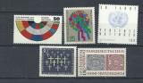 GERMANIA 1995 – 5 SERII ANIVERSARI,  NESTAMPILATE, SA11, Nestampilat