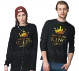 Tricouri, Bluze > King & Queen, Bff, New York, Etc. Unisex > pretul la 1 bucata, Negru, Rosu, L, M, S, XL, XXL