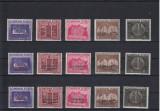 ROMANIA  1941  LP 143  LP 143 I  LP 143 II   FUNDATIA  CAROL  SERII  MNH, Nestampilat