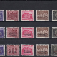 ROMANIA 1941 LP 143 LP 143 I LP 143 II FUNDATIA CAROL SERII MNH - Timbre Romania, Nestampilat