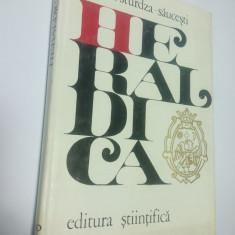 HERALDICA - Tratat tehnic - Marcel Sturdza Saucesti - Istorie