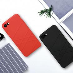 Husa iPhone 7 8 Flex Case by Nillkin Neagra - Husa Telefon Nillkin, Negru, Fara snur, Carcasa