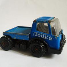 Masinuta camion TONKA vintage, metal tabla 8x4x3cm