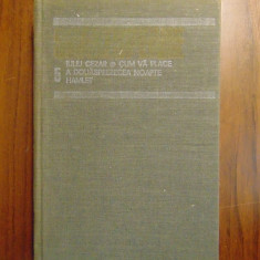Opere complete, vol 5 - William Shakespeare (Univers, 1986)